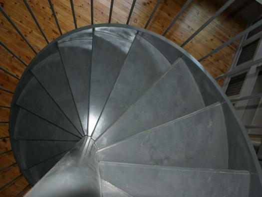 Spiral staircase - Top view