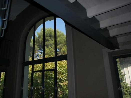 Glass window... Inside View
