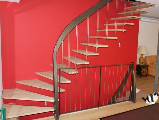 Départ du 2 ème escalier