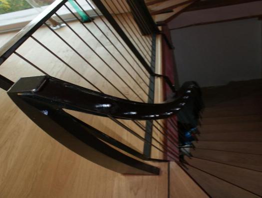Vue plongeante, tel une harpe